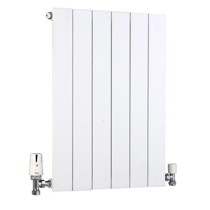Ximax Vertirad Vertical/Horizontal Radiator White (H)600 mm (W)445 mm   Departments   DIY at B&Q