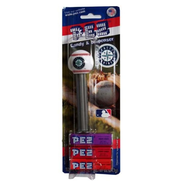 Pez Candy Dispenser 12Ct - Seattle Mariners