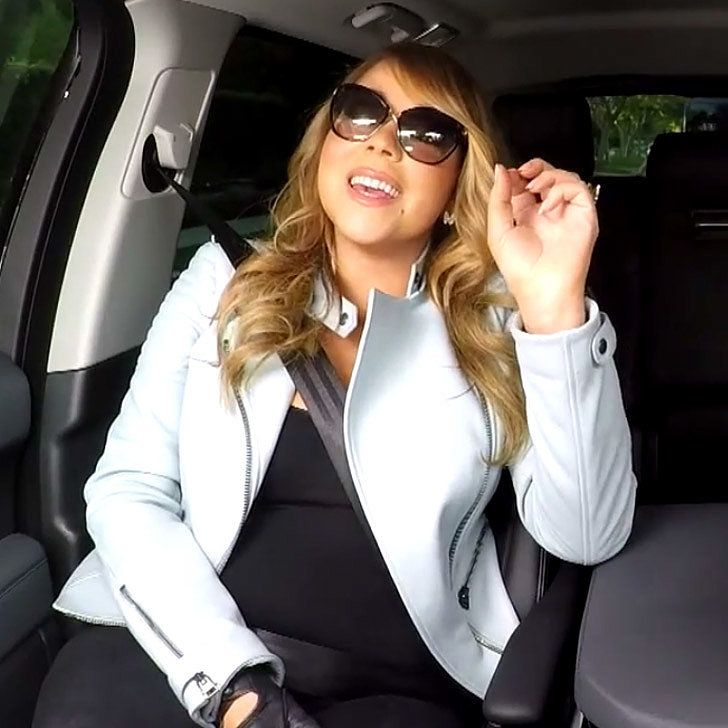 Mariah Carey Singing to Her Own Songs in the Car Is ACE!