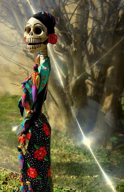 Mexican Catrina - icon for Days of the Dead.