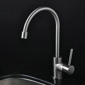 contemporaine robinet plein de cuisine en cuivre - nickel brossé R1703S http://www.robinetshop.com/contemporaine-robinet-plein-de-cuisine-en-cuivre-nickel-bross%C3%A9-r1703s-p-597.html