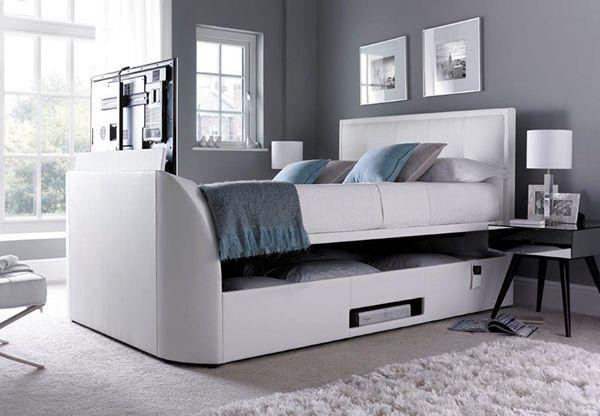 1000 ideas about tv beds on pinterest tv bed frame grey bedroom decor and grey bedrooms. Black Bedroom Furniture Sets. Home Design Ideas
