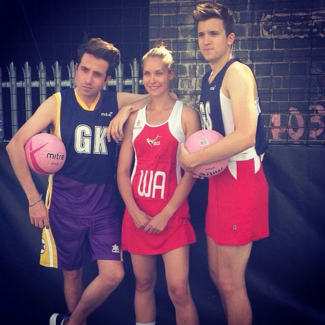 Nick Grimshaw, Tamsin Greenway and Greg James