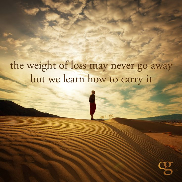 Grief is, all too often, part of the caregiver's journey.