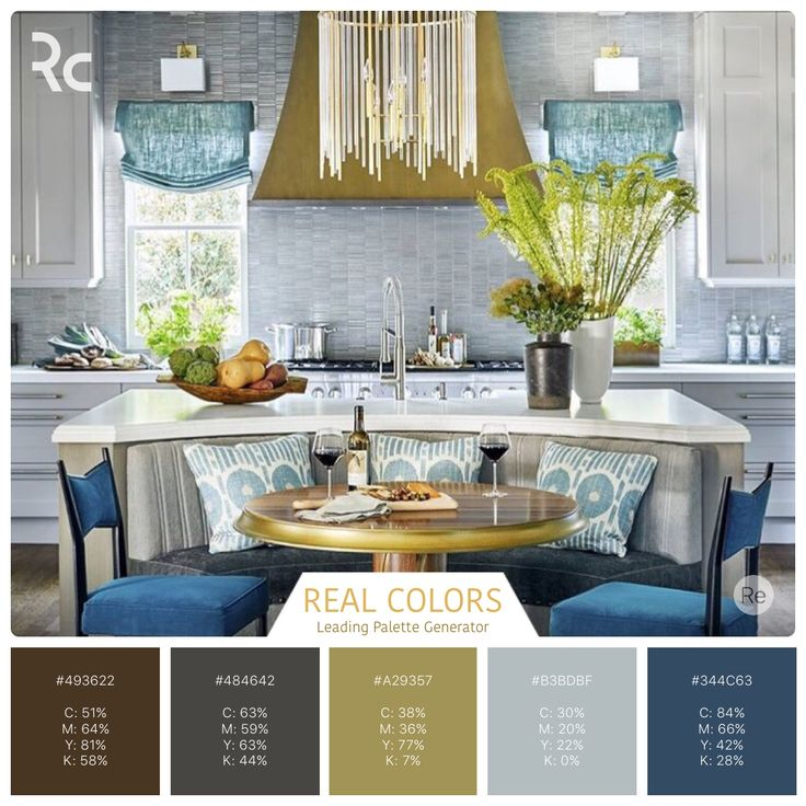 Great ideas for interior design. 2016 kitchen of the year color palette. #findinspiration #colorpalettes #realcolors #realcolorpalette #becreative #design #home #beautifulhome #kitchen #kitchendesign #kitchendecor #housebeautiful Real Colors for iPhone: http://www.itunes.com/apps/realcolors Or for Android: http://goo.gl/NtPx8 #nofilter Real Colors for iPhone: http://www.itunes.com/apps/realcolors Or for Android: http://goo.gl/NtPx8