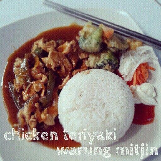 Chicken Teriyaki, www.warungmitjin.co, Ubud-Bali
