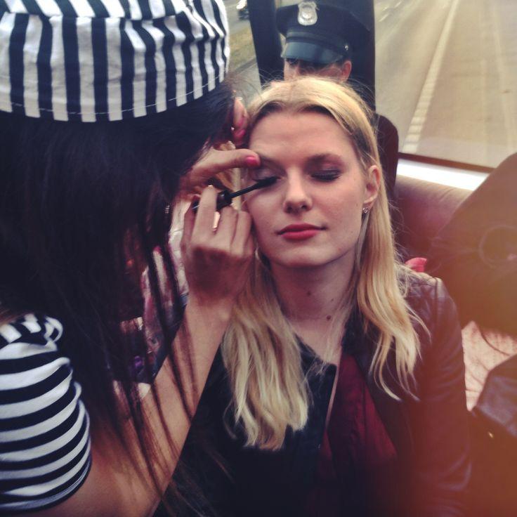 Glossy PR-Girl Janine bei einem Blogger-Event von Benefit Cosmetics
