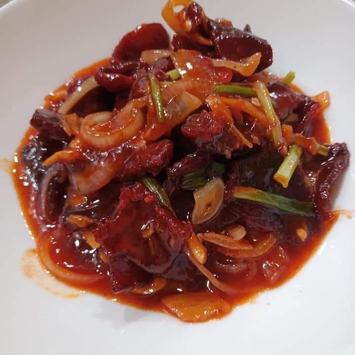 242 Likes 1 Comments Bawang Media Bawangchannel On Instagram Sedap Resepi Daging Masak Merah Ni Daripada Page Pa Ma Ini Kali Kedua Recipes Meat Food