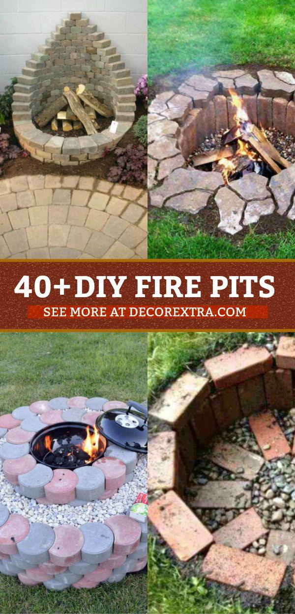 40 Best Diy Fire Pit Ideas And Designs Backyard Fire Outdoor