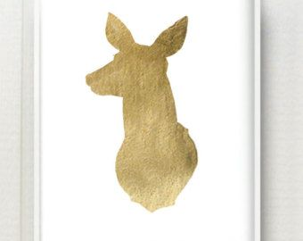 Doe Head Silhouette Google Search Projects To Try
