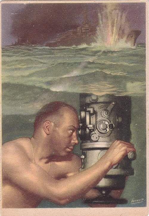 Italian war poster