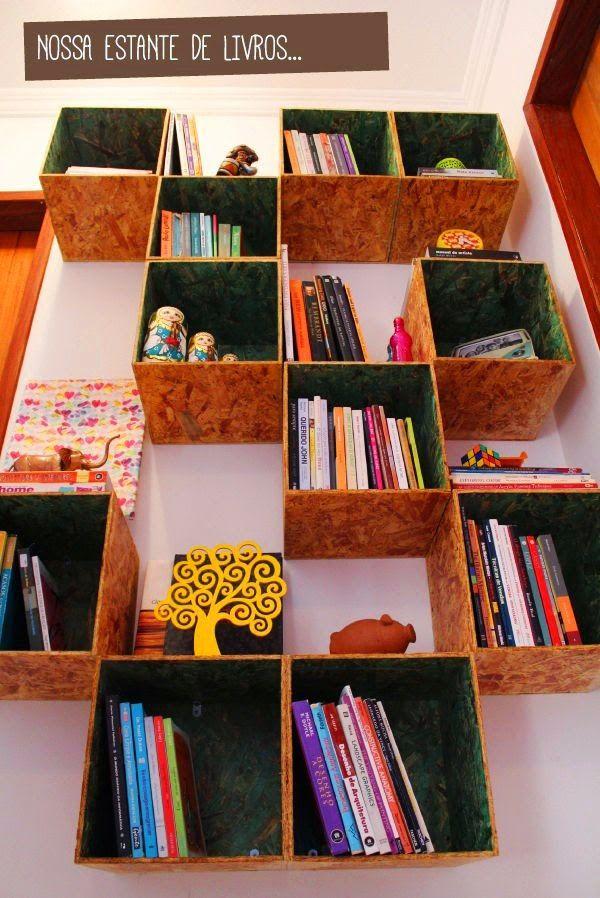 Coisas de mulher cristã : Estantes e ideias simples para organizar livros