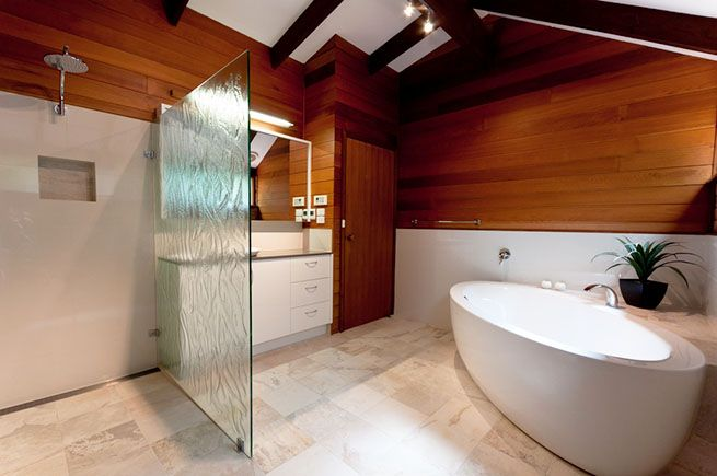 17 best images about how to install wood paneled bathroom for Small bathroom renovations canberra