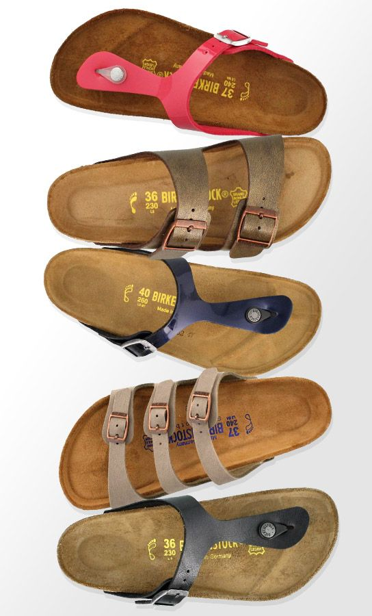 Birkenstock is back! Shop one of the hottest trends now, only at Peltz Shoes.