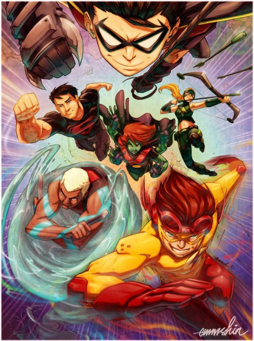 Young Justice - Emmshin