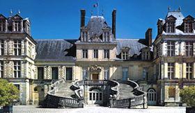 Château de Fontainbleu. Cour d'Honneur.