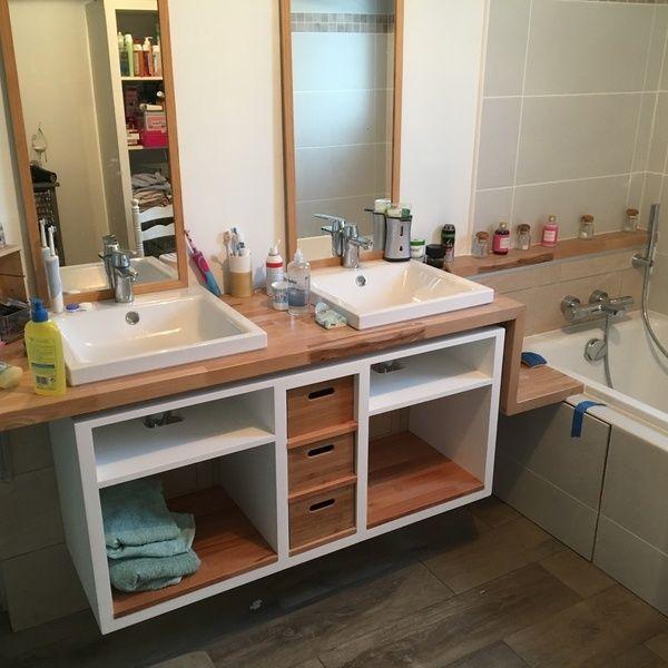 44 best sales de bain images on Pinterest Bathroom, Bathrooms and