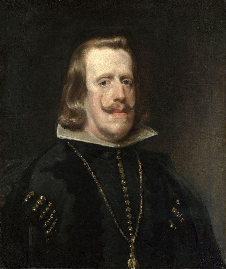 Philip IV of Spain-An older Philip IV,painted in 1656 by Diego Velázquez.8.11.1649г.Филипп IV женился на Марианне Австрийской (1634-1696).Женитьба была обусл. смертью его единств.сына и наследника престола Бальтазара Карлоса.Бальтазар Карлос умер вскоре после того,как с имп. Фердинандом III была достигнута догов-ть, что он возьмет в жены его дочь Марианну. 42-летн.Филипп IV решил жениться на невесте св.умершего сына,хотя она была его племянницей,и ей в ту пору было всего 13 лет.