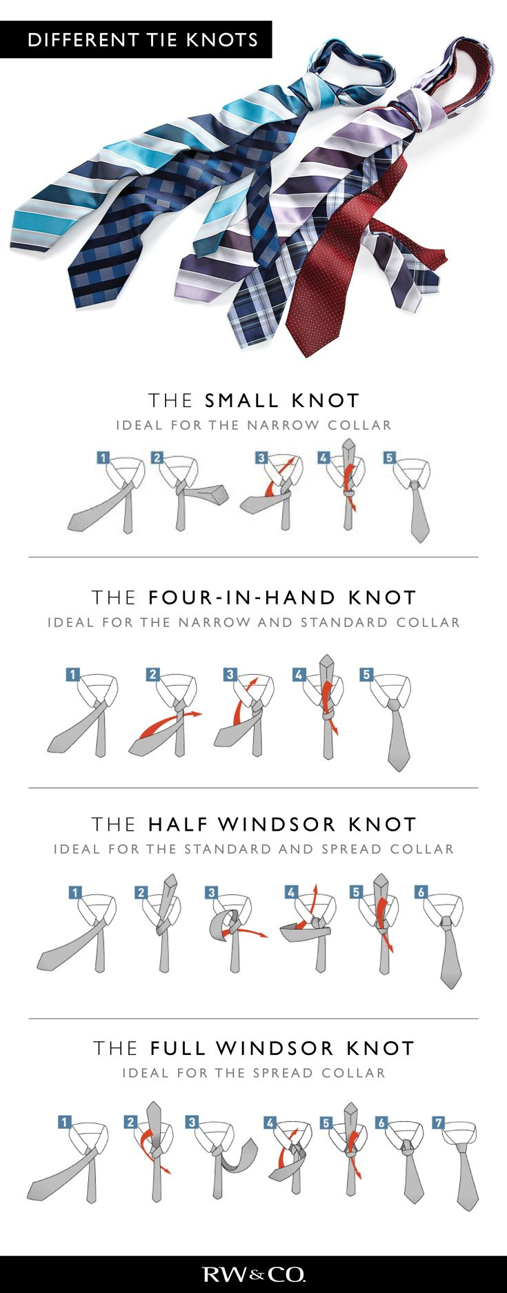 How To Tie A Tie Rwco Because It Happens