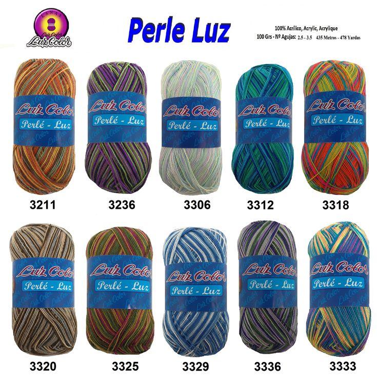 Luz Color PERLE LUZ, es un hilo perlé, con una torsión que lo hace ideal para tejer tus prendas veraniegas y tus accesorios más originales para el hogar. Su acabado es muy suave y muy agradable al tacto con la piel.  COMPOSICIÓN: 100% Acrílico  AGUJAS: 2.5 - 3.5  GANCHILLO: 2  METROS: 435  PESO: 100 gramos