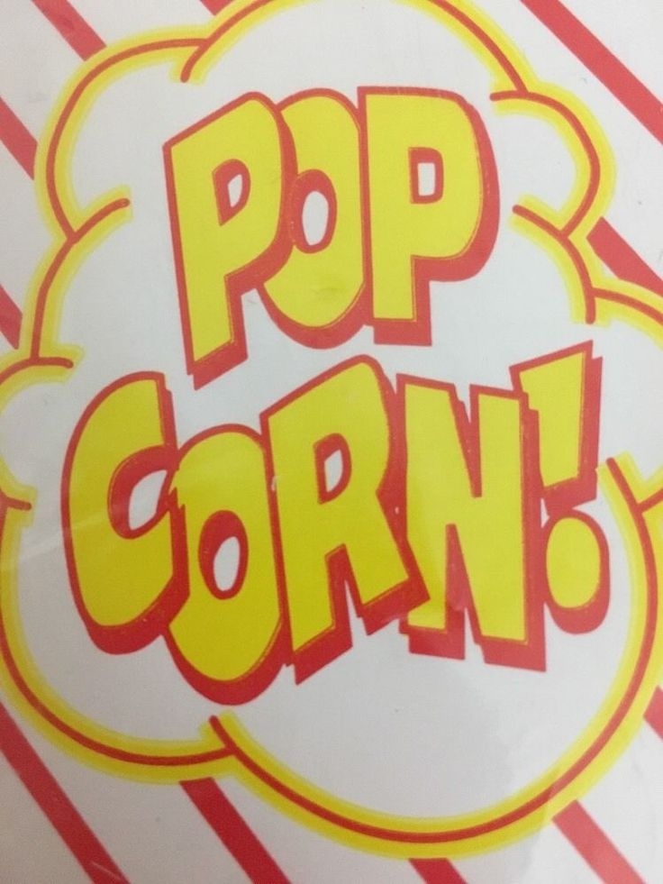New Pop Open Popcorn Tubs 8 Count Party Movie Night Snack Bag Bowl Paper #WabashValleyFarms