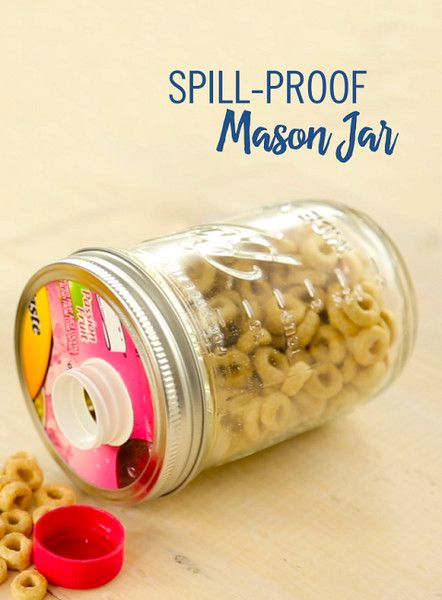 Make Spill Proof Mason Jars - Summer Road Trip Essentials - Things To Bring On Your Big Trip - Photos