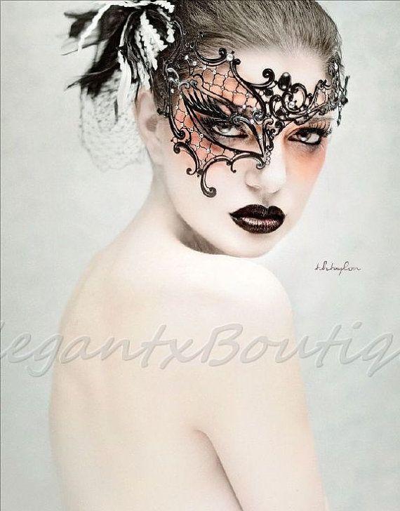Unique Masquerade Mask Phantom of The Opera by ElegantxBoutique, $34.95