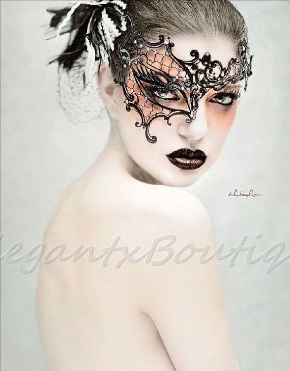 Unique Masquerade Mask Phantom of The Opera by ElegantxBoutique, $34.95
