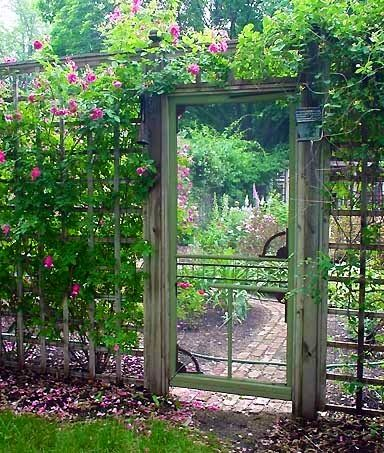 Garden Screen Door...