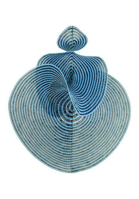 Knit 1, chain 2, master hyperbolic planes.