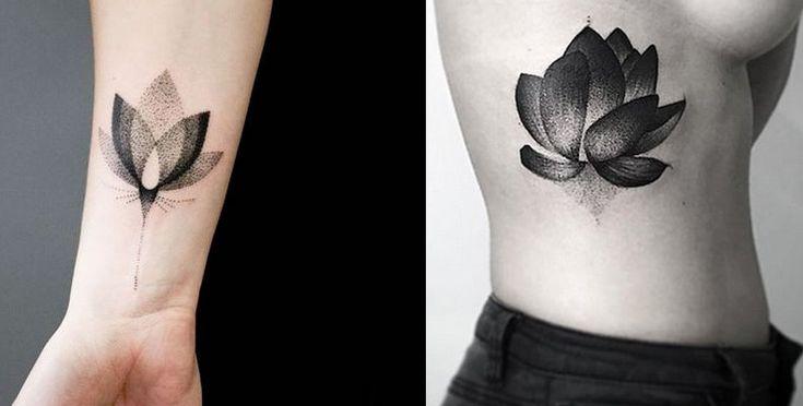24 increibles tatuajes de puntilismo que no podras parar de mirar.