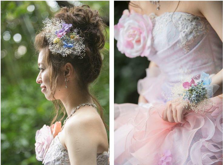 Photography: Altavista Garden #ヘッドドレス #ヘッドピース #ヘアアクセサリー #diy