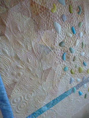 Awesome quilting - http://quiltsoflove.blogspot.co.uk/search/label/seaglass%20quilt