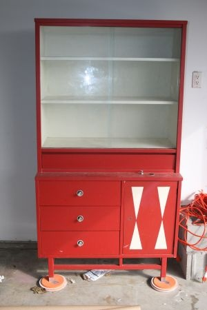 Super Cute Retro Hutch