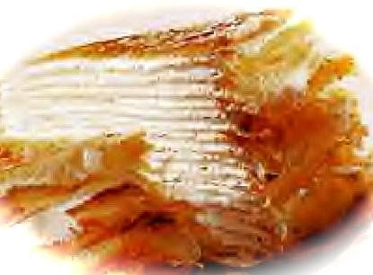 TRY GLUTEN FREE -- 20-Layer Crepe Cake