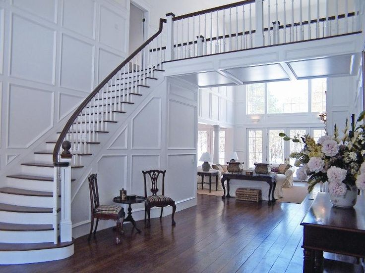 This Foyer By Carol Glasser Interior Design Could Have Taken On Many Different Looks With The