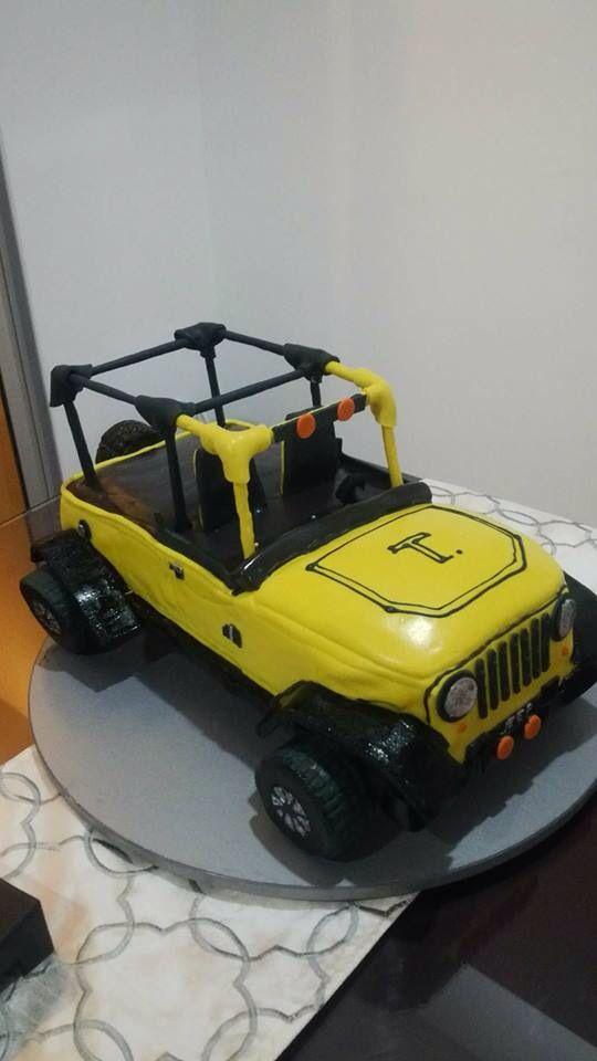 Vainilla cake. My jeep!!