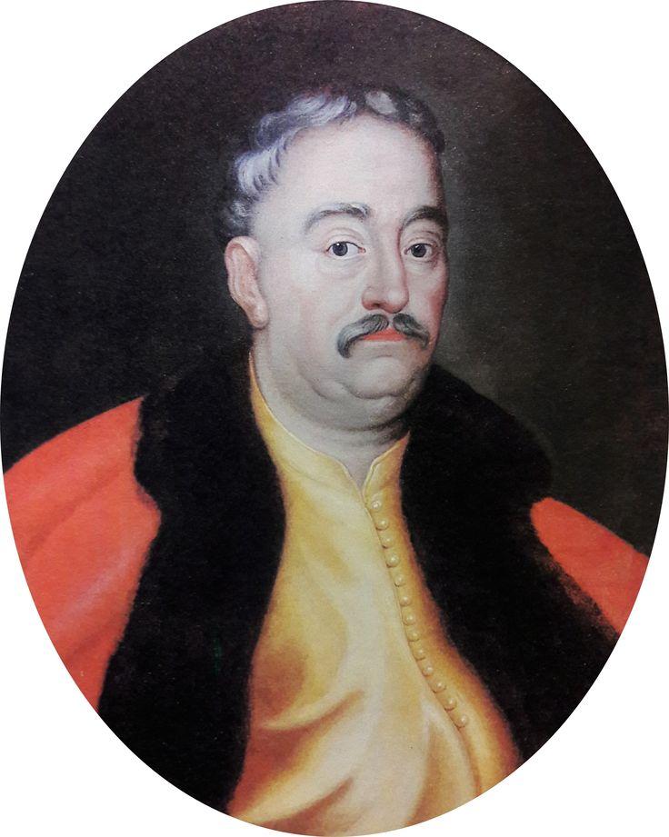 Portrait of John III Sobieski in yellow żupan by Anonymous from Poland, ca. 1695 (PD-art/old), Muzeum Archidiecezji Warszawskiej