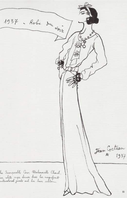 Coco Chanel par Jean Cocteau,1937