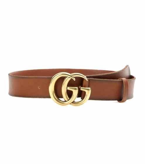 Embellished leather belt | Gucci