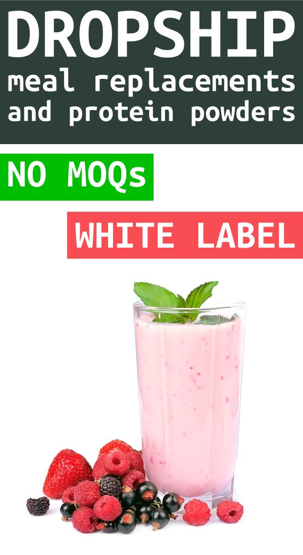 This is a graphic of Selective Meal Replacement Private Label