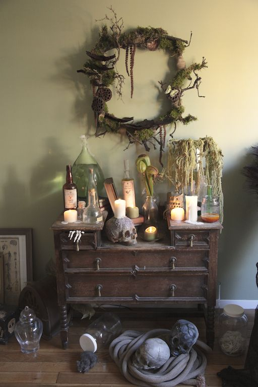 Voodoo on the Bayou - Swamp Themed Apothecary **(Per Candace Larkin the photo credit should be Johnny Love from Love Manor)