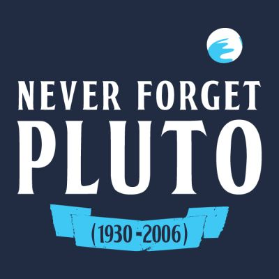 Remember Pluto for the great planet it was