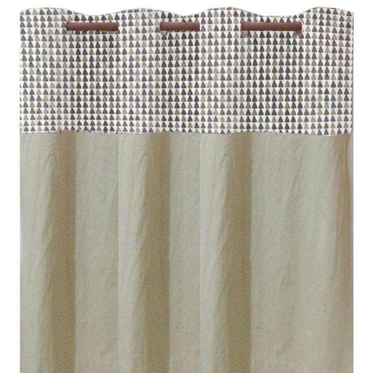 rideaux scandinave gomtrique l137xh260cm rideau rideau voilage stores