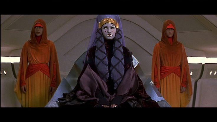Keira Knightley in Star Wars I: The Phantom Menace (1999).
