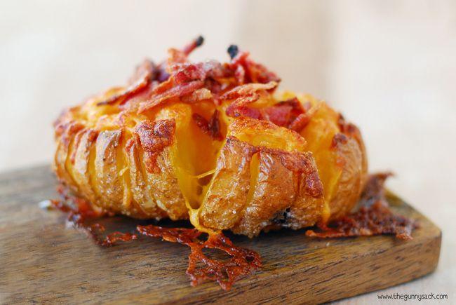 Hennes baconvariant av bakad potatis tar nätet med storm.
