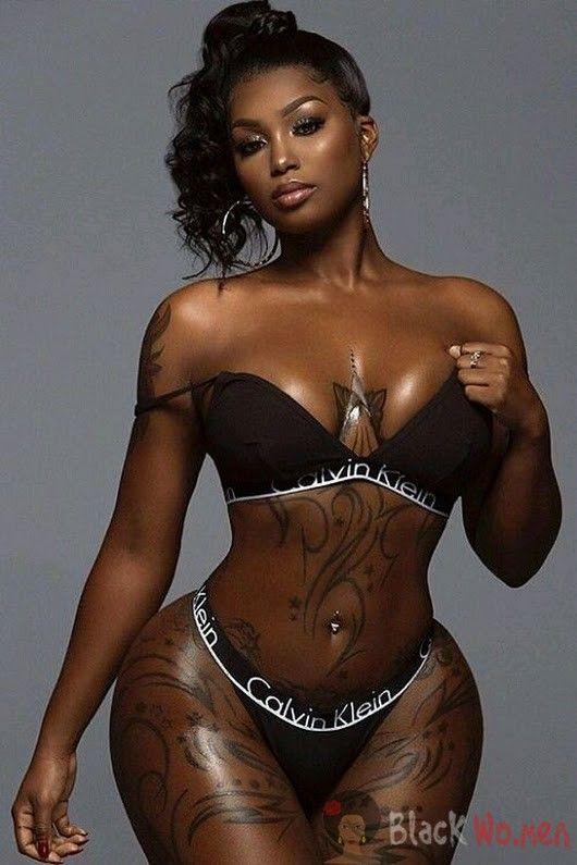 Sexy Light Skin Mixed Ebony