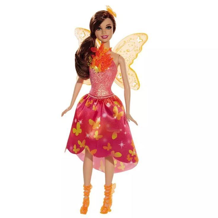 Boneca Barbie Portal Secreto A Mega Fada Mattel Bl - Dinca - R$ 129,99 em Mercado Livre