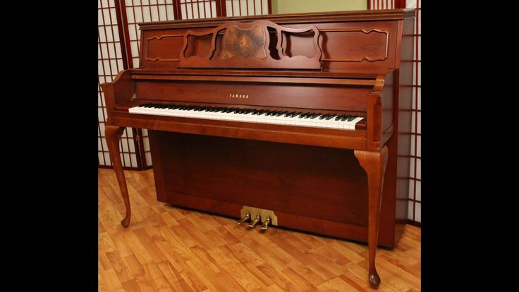 Yamaha disklavier upright piano queen anne mx600 for the for Queen anne dining room