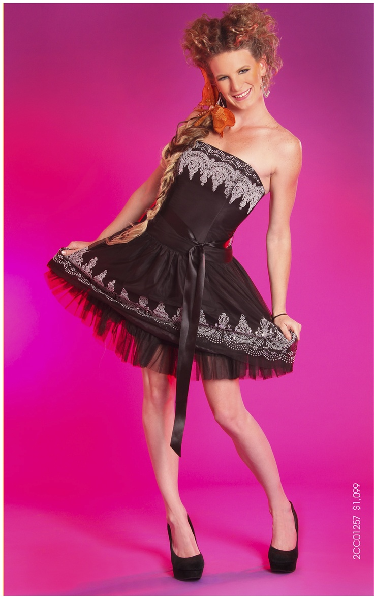 Bonito Mi Vida Como Vestido De Fiesta Liz Embellecimiento ...